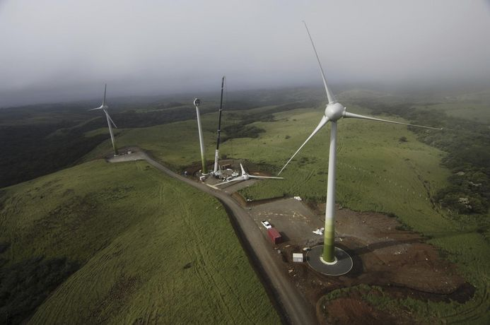 Windpark Guanacaste Costa Rica
