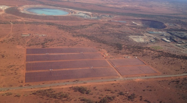 Energy supply for a mine with a 10.6 MW solar power plant and a 6 MW battery storage system